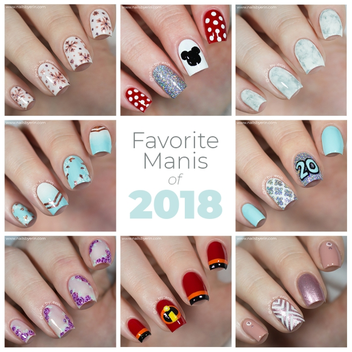 My Favorite Manis of 2018