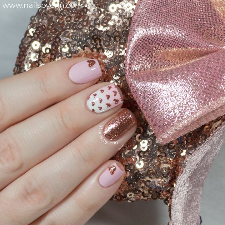 Rose Gold Minnie Mouse Nails | Disney Nail Art!