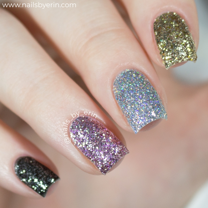butter London Peel-Off Glitter Collection | Live Swatches and Review