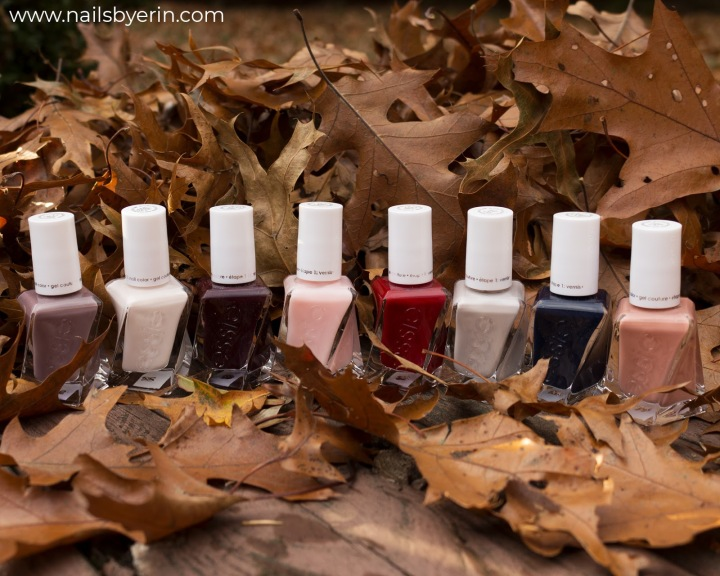 Essie Gel Couture Polishes Review | NailsByErin