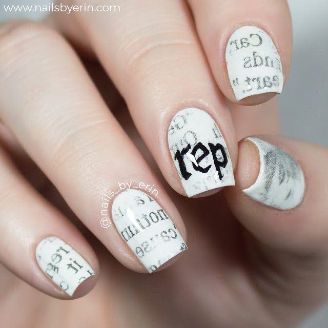 reputation Taylor Swift Nails | NailsByErin