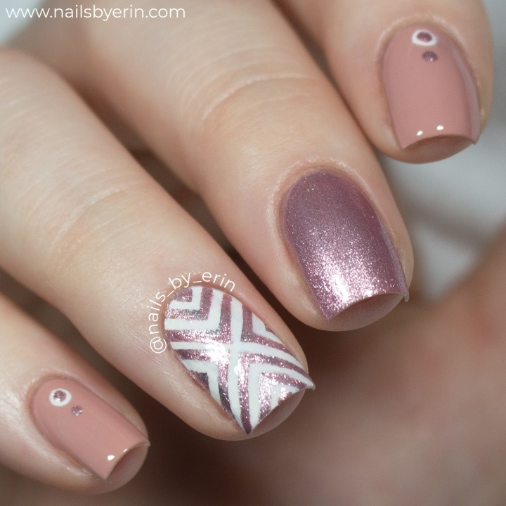 Rose Gold X Nails | Sally Hansen Insta-Dri Review | NailsByErin