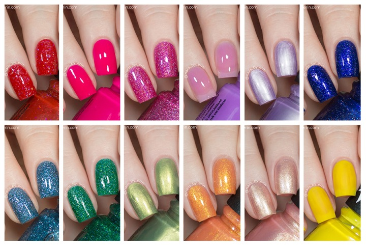 "China Glaze ""You Do Hue"" Collection 