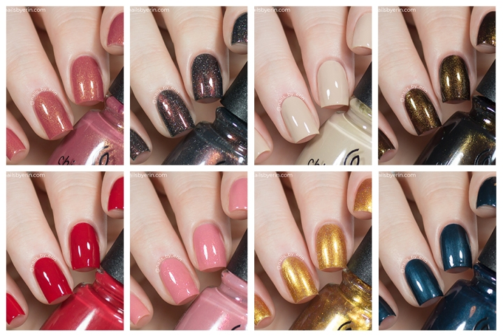 China Glaze Gone West Collection Swatches and Review | Fall 2019 #cowboybye