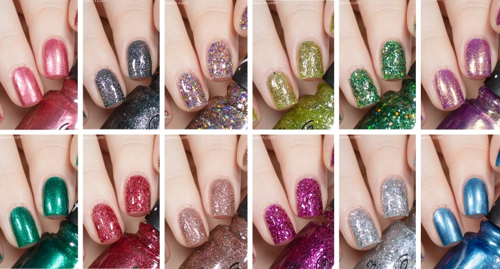 China Glaze x Sesame Street 50th Anniversary Collection | Holiday 2019 | Swatches and Review
