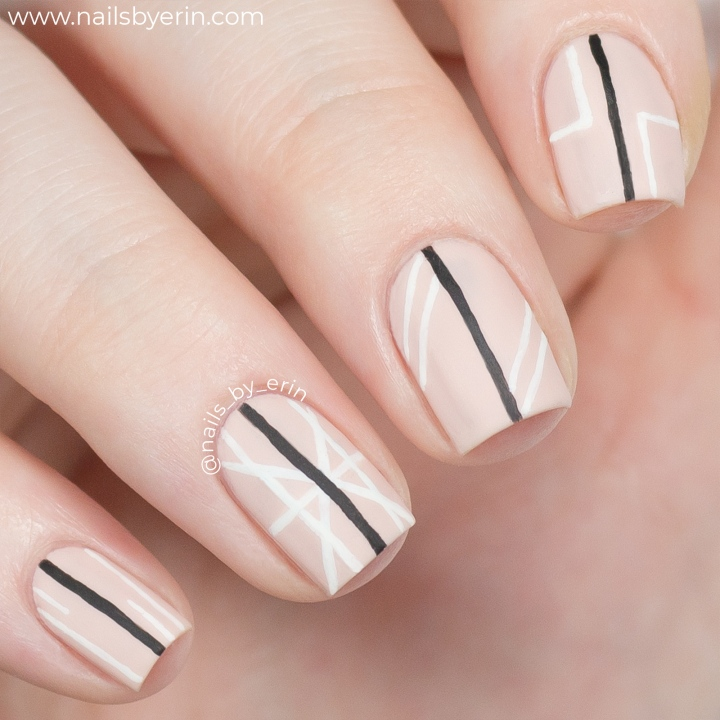 Recreating Joey King's Geometric Golden Globes Nail Art