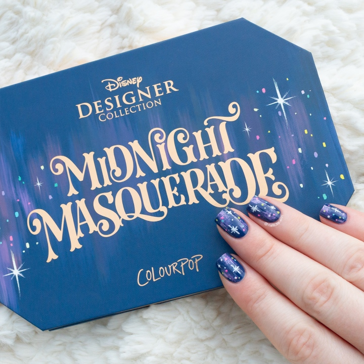 ColourPop x Disney Midnight Masquerade Nails