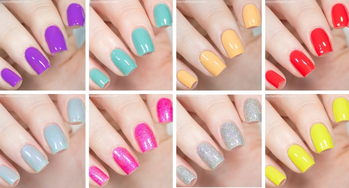 China Glaze Trolls World Tour Collection | Swatches and Review