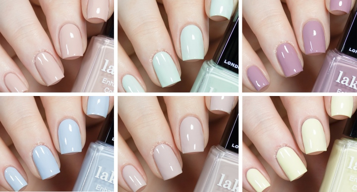 Londontown Pretty in Pastels Spring 2020 Collection | Swatches and Review