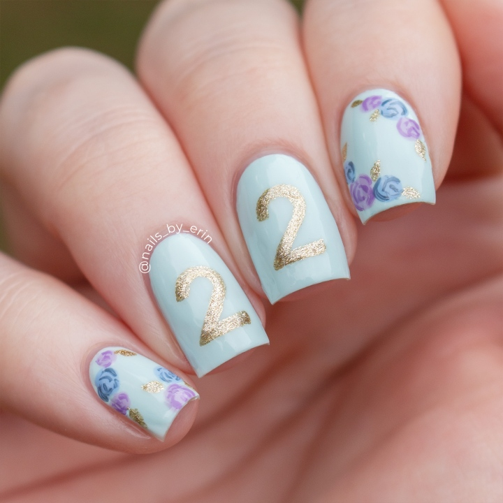 My 22nd Birthday Nails!